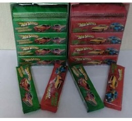 Жеват. резинка 'Hot Wheels'в ассорт 20г(20шт*12)ШТ
