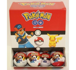 Шар с сюрпризом Aras 'Pokemon Go' ,25 гр., 24 шт., 394-10